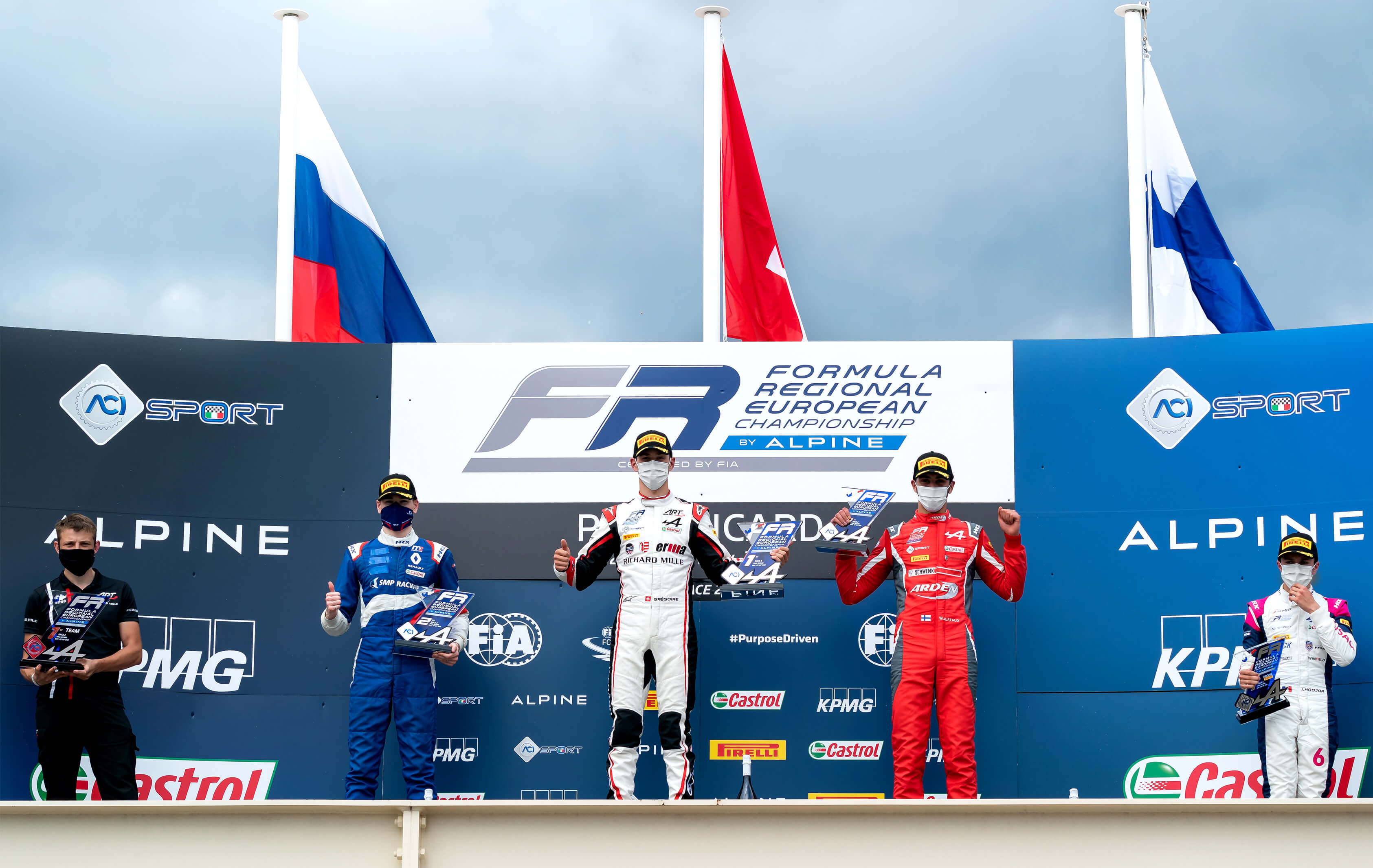A win, two pole positions and a podium finish in Le Castellet