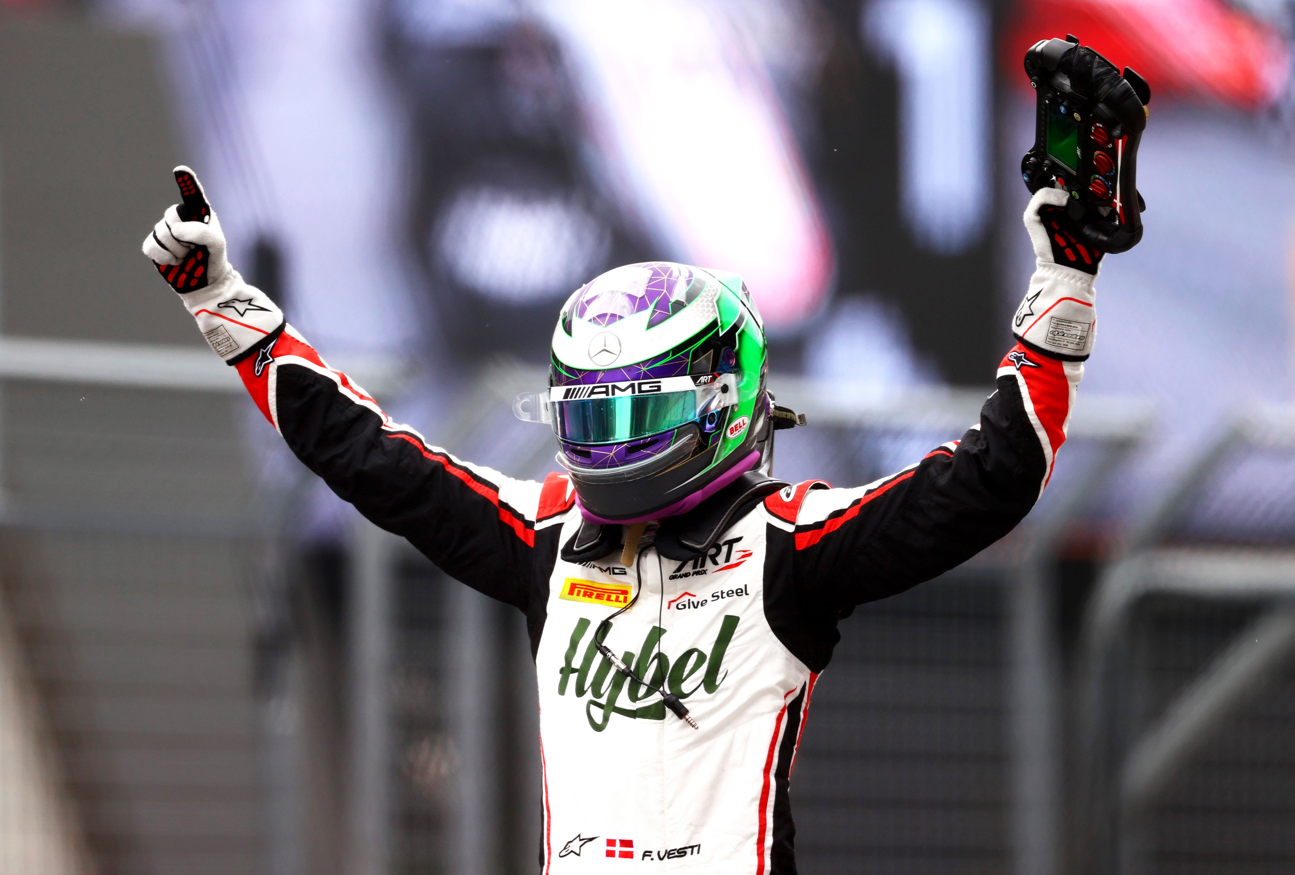 A win and a second place in Austria #F3