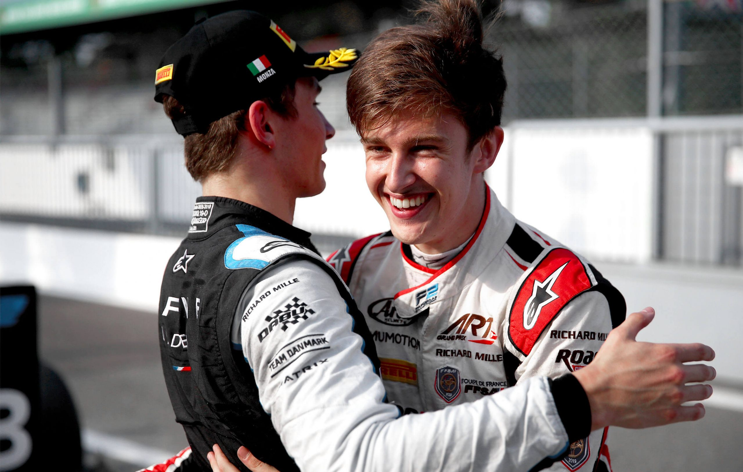 Une victoire et un podium en F2 à Monza !