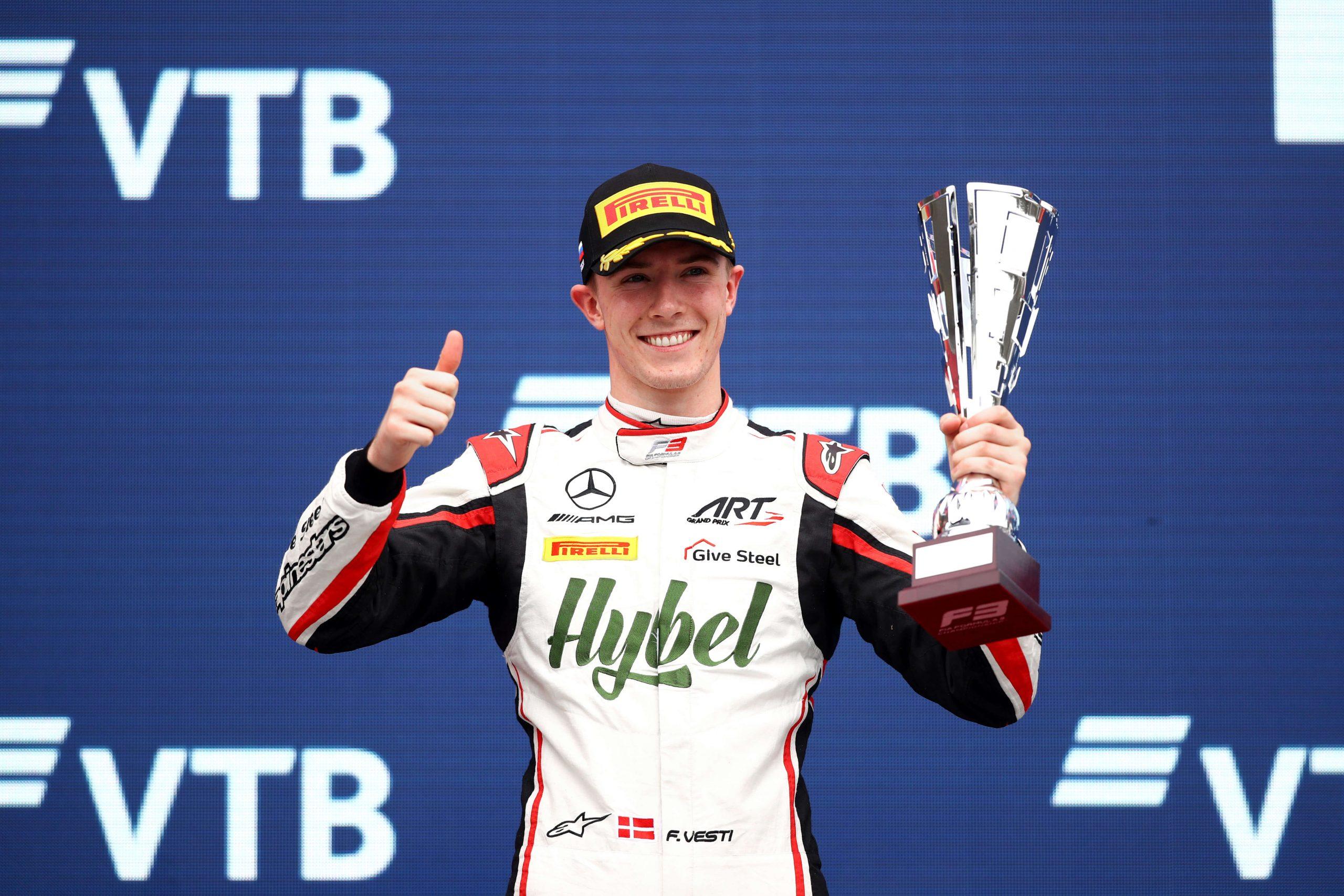 La saison 2021 de la F3 est terminée, Vesti termine deuxième dans la dernière course