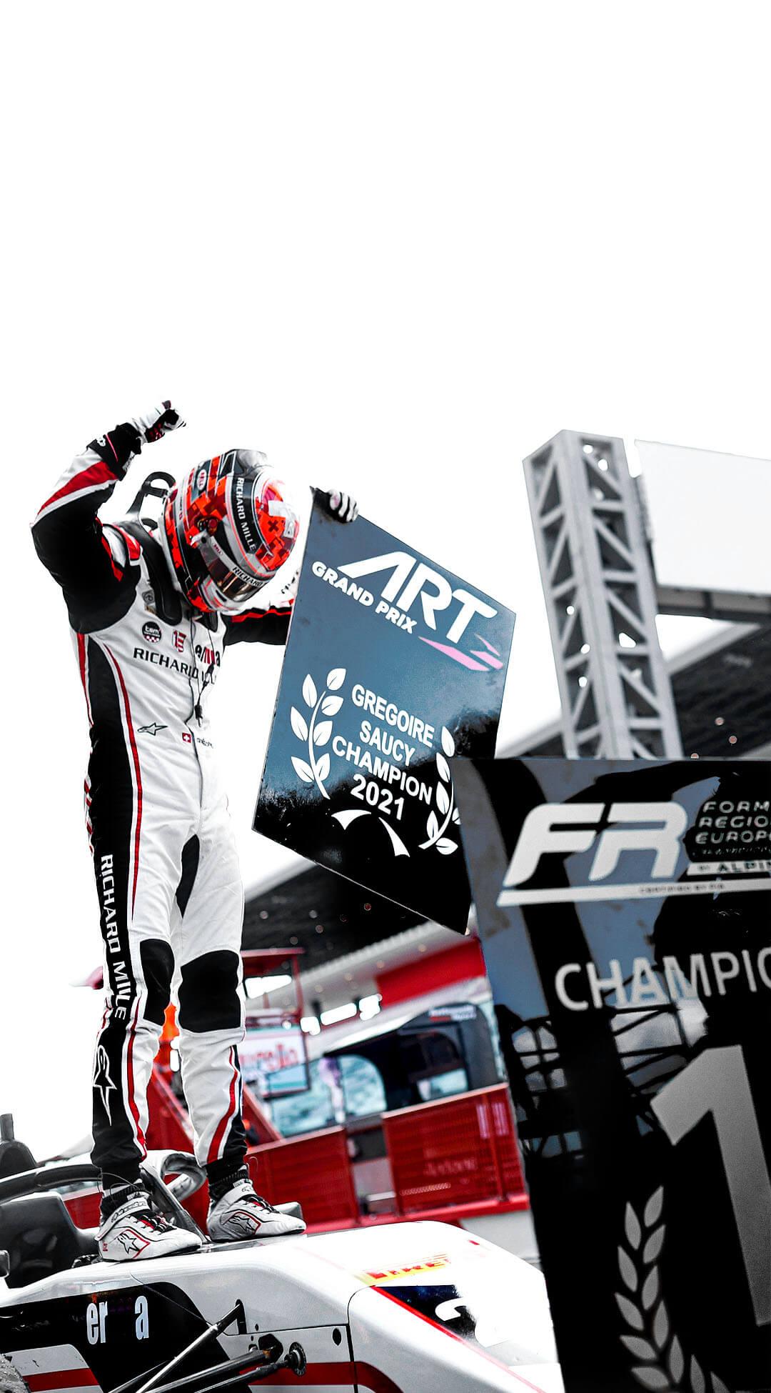 Grégoire Saucy, Champion 2021 en FRECA !